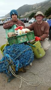 The green crate was reported as potential Tsunami debris to disasterdebris@noaa.gov