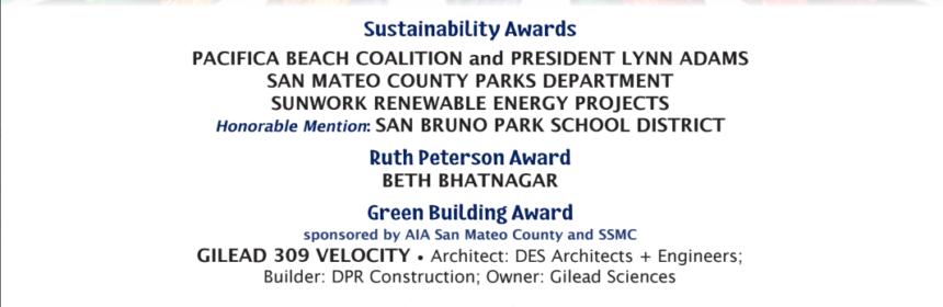 San Mateo Sustainable award